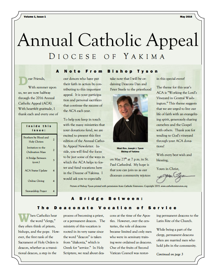 ACA NEWSLETTER COVER