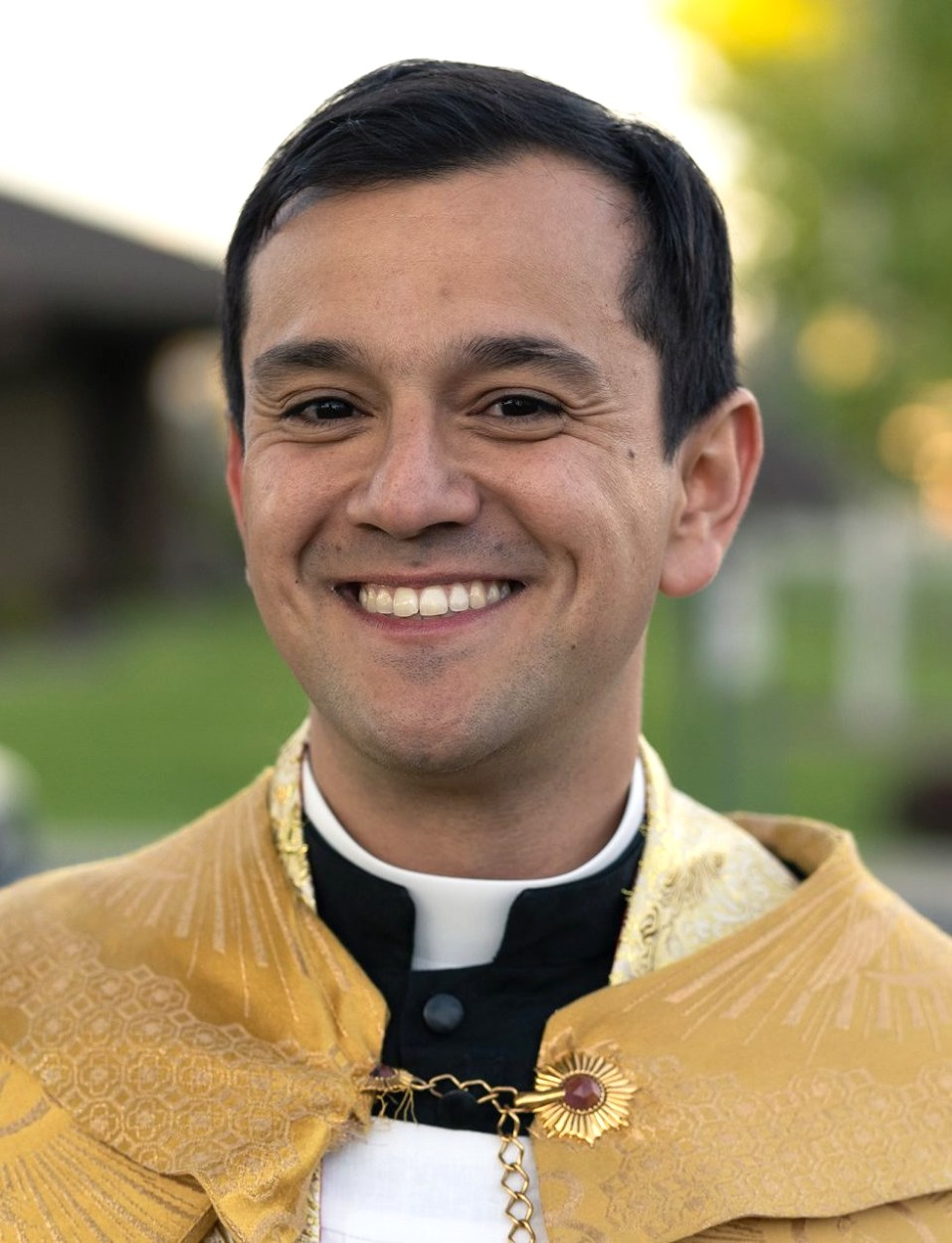Fr. Edgar Quiroga Assigned to Christ the King Catholic Church