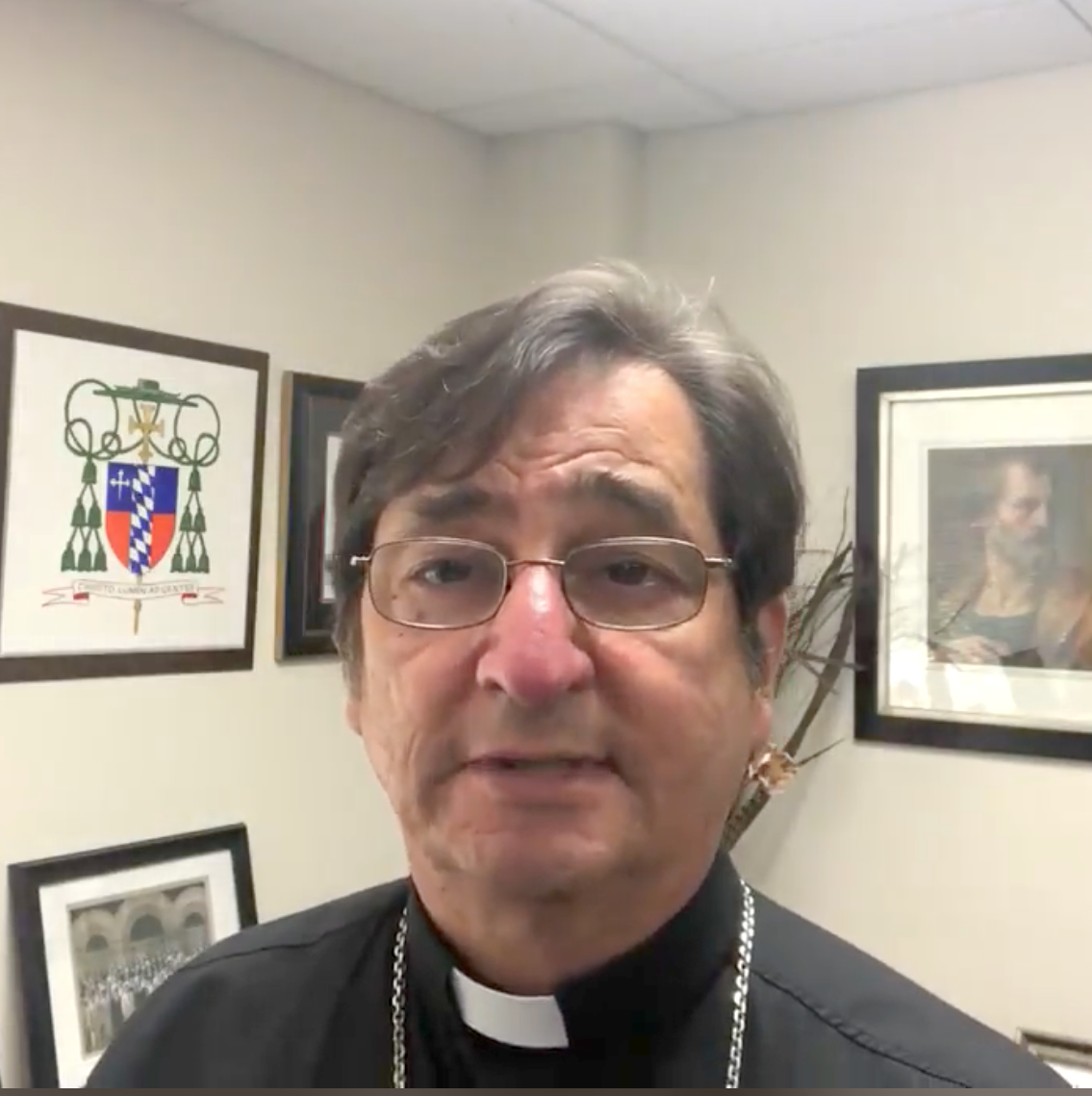 Religious Education Update from Bishop | Repaso del Obispo sobre Educación Religiosa 07-31-20