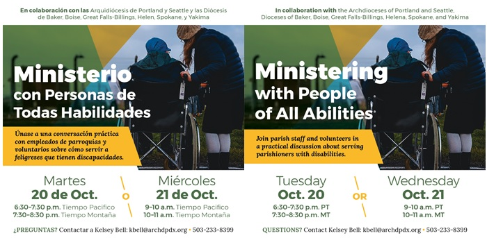 POSTPONED: Ministering with People of All Abilities / Ministerio Con Personas de Todas Habilidades